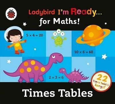 NEW Ladybird Times Tables Audio Collection By Ladybird Audio CD Free Shipping