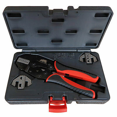 Bootlace Ferrule 3 Die Quick Change Cable Crimper Kit  Crimping Tool 0.5 - 35mm
