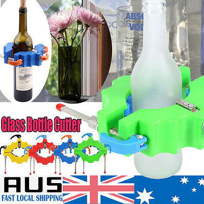 Glass Bottle Cutter-Craft DIY Glass Art Cutting Machine Tool For Jar & Recycle Q