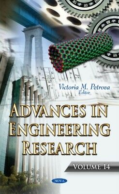Advances In Engineering Research, 9781634859301