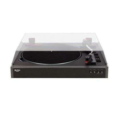 Bush Full Size Turntable Vinyl Record Player - Black - Free 90 Day Guarantee