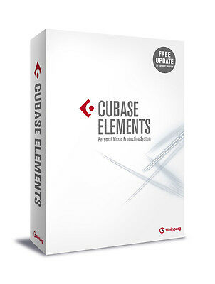 Steinberg Cubase Elements 9 Audio MIDI Recording Software (Education) (NEW)