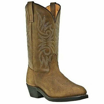 5742 Ladies Laredo Distressed Leather Foot Western Cowboy Boot Tan NEW