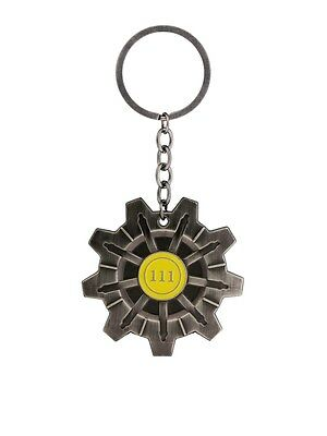 Fallout 4 Vault 111 Metal Keychain Keyring