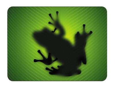 Silent Monsters Gaming und Office Mauspad 24 x 20 cm,Mousepad Design green frog