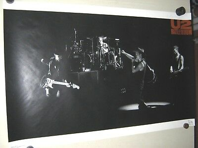 U2  / Orig. Vintage Poster / Rattle & Hum / #3204 - Exc. New Cond./ 22 x 34""