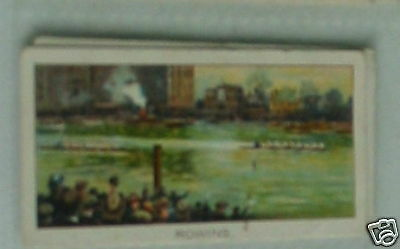 #23 rowing - Sport cigarette card