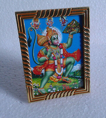 Lord Hanuman Hanumana - Small Photo Frame * Height 3.5 Inches (Table Top)