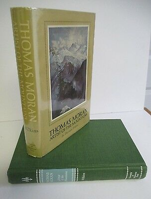 THOMAS MORAN ARTIST OF THE MOUNTAINS by Thurman Wilkins, 1966 1st. Ed. in DJ