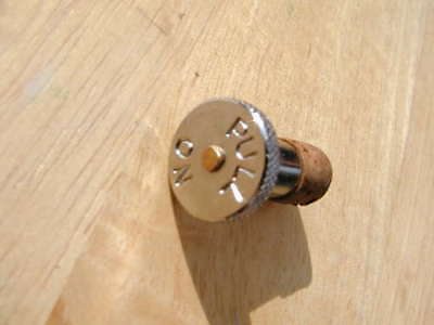 pull on cork ended Ewerts type PETROL fuel TAP PLUNGER BSA Triumph Norton AJS