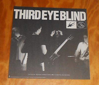 Third Eye Blind Poster 2-Sided Flat Square 1997 Promo 12x12