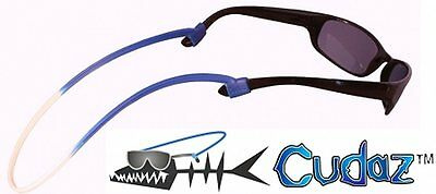 NEW Cudaz 100% Silicon Rubber Eyeglass/Sunglasses Eyewear Retainer w/Slider Clip