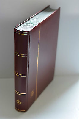 Brown Lighthouse 48 Pg Hardcover Stamp Stockbook Album LP4/24T Retail $49.95