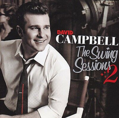 DAVID CAMPBELL The Swing Sessions 2 CD - New