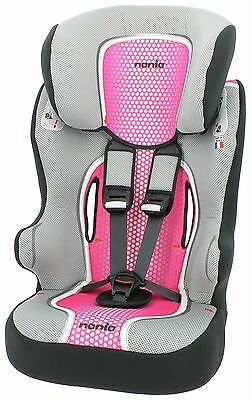 TT Racer First Pop Group 1-2-3 High Back Booster Seat -Pink