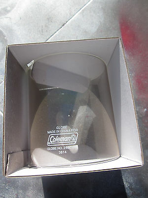 "Coleman ""new In Box"" Gas & Propane Lantern Part. Globe For 282,285,286,288 Etc"