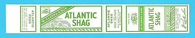 Wrapper  -  W.  Clarke  &  Son  -  Atlantic  Shag  Tobacco  Wrapper   (B)