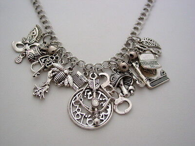 Claudia Collection Funky Chunky Charm Necklace Warehouse 13 Artifact Necklace