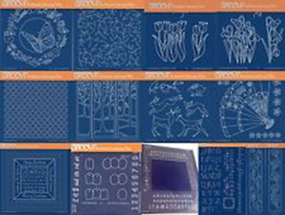 Clarity Stamps Groovi Parchment Embossing Tina/'s Christmas Presents /& Holly