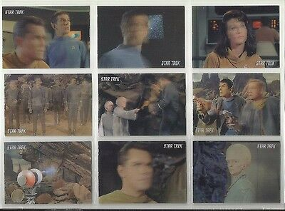 2009 Star Trek TOS 40th Anniversary: Series 3 THE CAGE Set of 18 Cards (L1-L18)