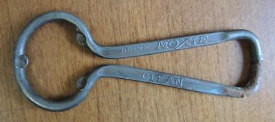 Antique Moxie Bottle Can Opener * Wholesome * Refreshing