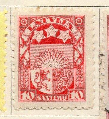 Latvia 1923-24 Early Issue Fine Mint Hinged 10s. 142759