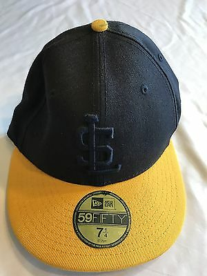 3262fb71174 TEAM SALT LAKE Bees MLB New Era 59Fifty Cap Size 7 1 4 Navy and Gold ...