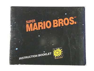 ¤ Super Mario Bros ¤ (MANUAL ONLY) Good! Nintendo NES