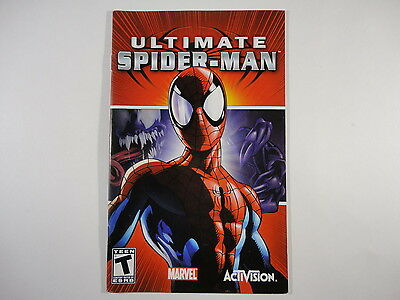 ¤ Ultimate Spiderman ¤ (MANUAL ONLY) GREAT PlayStation 2 PS2