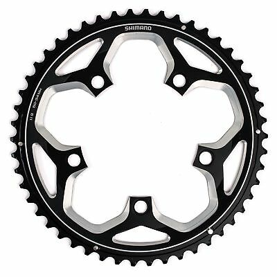 Shimano Spares FC-RS500 11 Speed Bike Chainring Black For Double Chainrings