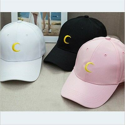 Sailor Moon Luna Moon Kpop Hip Hop Unisex Baseball Snapback Adjustable Hat