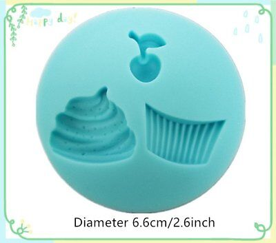 Mini Cake Silicone Bakeware Tool Cake Decorating Clay Mould Fondant Embossed