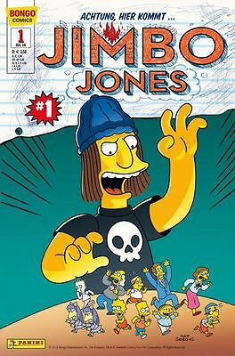 SIMPSONS COMICS PRÄSENTIERT: JIMBO JONES (deutsch) # 1 - PANINI 2016 - TOP