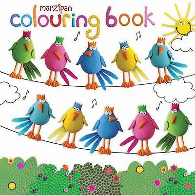 Children's Marzipan Birds 36 Page Colouring Book