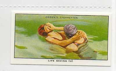 #31 life saving (h) method of release swimming r card