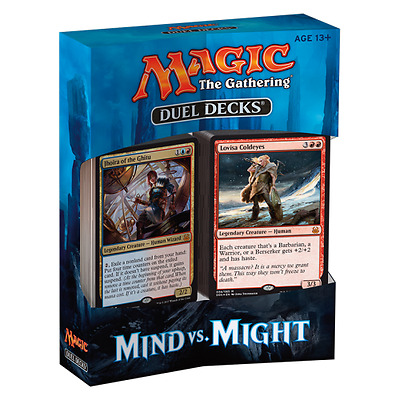 Wizards of the Coast Magic The Gathering Duel Decks Mind Vs Might Free UK P&P