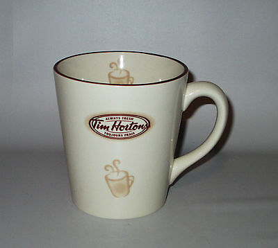Tim Hortons Mug Cup 2007 Limited Edition # 007 Ceramic Always Fresh Coffee Tea