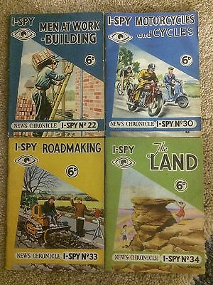 Selection Of Late 50's Early 60's I Spy Books Lot Number 3 Buy It Now