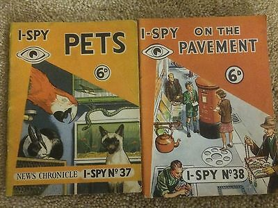 Selection Of Late 50's Early 60's I Spy Books Lot Number 4 Buy It Now