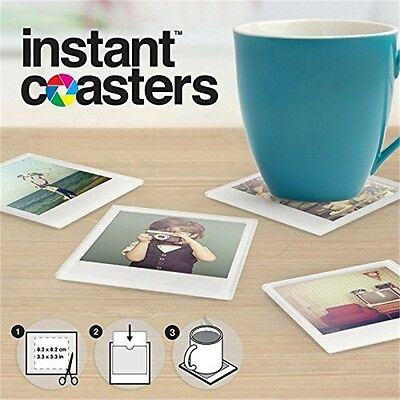 Mustard Instant Coasters - Set Glass Photo Your 4