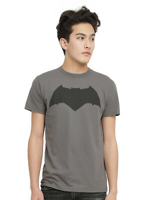 Mens Licensed Batman vs Superman Dawn of Justice Batman Logo Shirt NWT Pick Size