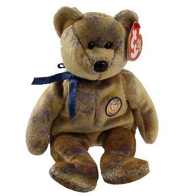 TY Beanie Baby - CLUBBY 3 the Bear (8.5 inch) - MWMTs Stuffed Animal Toy