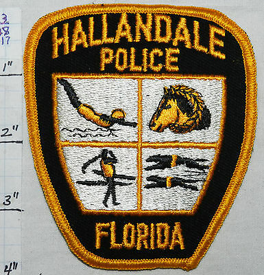 Florida, Hallandale Police Dept Patch