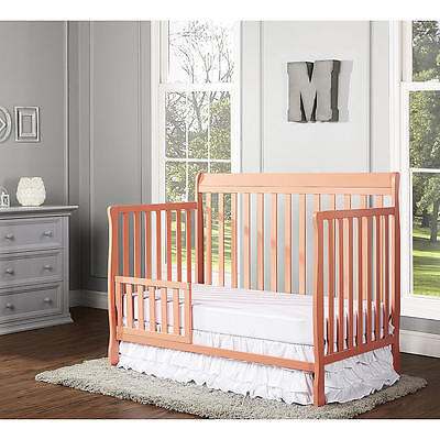 Dream On Me Universal Toddler Guard Rail - Fusion Coral