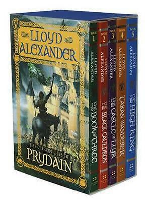 NEW The Chronicles of Prydain By Lloyd Alexander Paperback Free Shipping