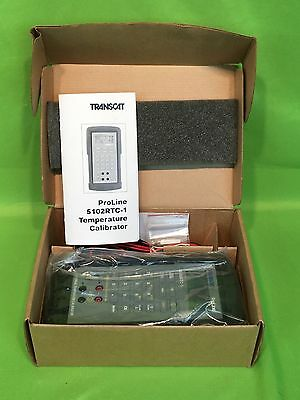 New Transcat 5102RTC-1 Proline Temperature Calibrator - Satisfaction Guaranteed!