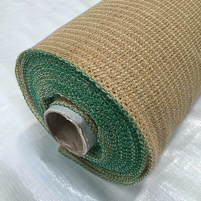 90% UV Beige Shade Cloth Netting Horticultural Shadecloth 1.83 x 20m