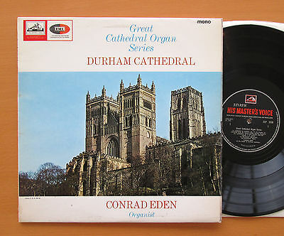 CLP 3550 DURHAM CATHEDRAL Great Cathedral Organ Series 1966 HMV Mono cover tear