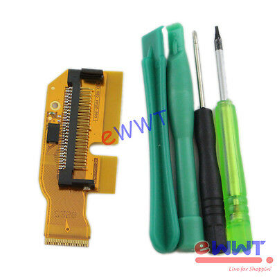 CF Memory Card Pin Connector Flex Cable Part+Tools for Canon EOS 7D 2014 ZVFE149