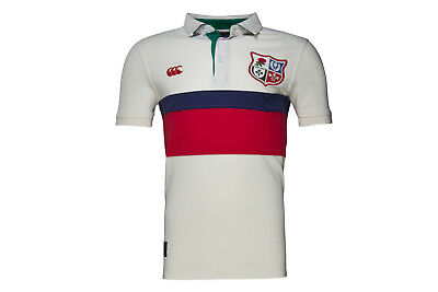 Canterbury British & Irish Lions 1888 Panel Pique Rugby Polo Shirt